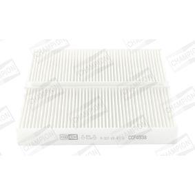 Filtro, aire habitáculo CCF0338 CIVIC 7 Hatchback (EU, EP, EV) 2.0 Type-R ac 2003