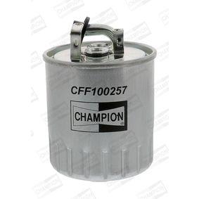 Kraftstofffilter Höhe: 127mm mit OEM-Nummer 611 092 0201
