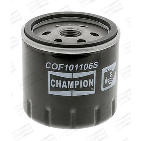 CHAMPION  COF101106S Ölfilter Höhe: 76mm