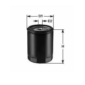 Oil Filter Ø: 76mm, Inner Diameter: 71mm, Height: 87mm with OEM Number VOF 136