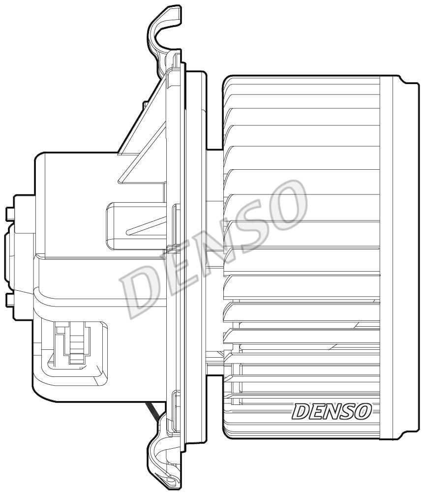 Heizgebläse DEA09024 DENSO DEA09024 in Original Qualität