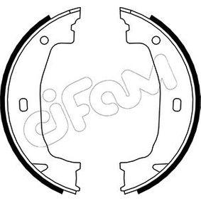 Brake Shoe Set, parking brake Ø: 160,0mm, Width: 20mm, Ø: 160,0mm with OEM Number 3441 6761 291