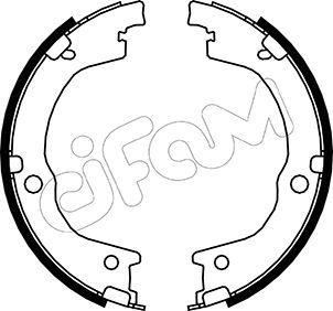 CIFAM Brake Shoe Set, parking brake 153-230