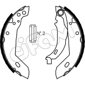 Bremsbackensatz Breite: 42mm mit OEM-Nummer 7701 205 312