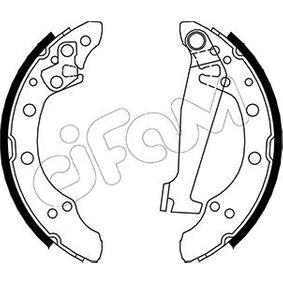 Bremsbackensatz Breite: 40mm mit OEM-Nummer 6R0698520X