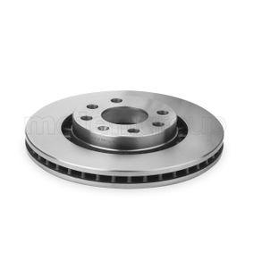 Bremsscheibe Bremsscheibendicke: 24,0mm, Lochanzahl: 4, Ø: 256,0mm mit OEM-Nummer 9025-0546