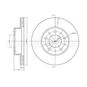 CIFAM  800-200 Tarcza hamulcowa Grubożć tarczy hamulcowej: 22mm, Il. otworów: 5, Ø: 262mm