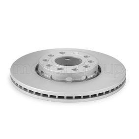 Bremsscheibe Bremsscheibendicke: 24,9mm, Lochanzahl: 5, Ø: 287,7mm mit OEM-Nummer 4A0.615.301E