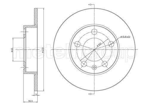 Scheibenbremsen CIFAM 800-366C Bewertung