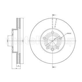 Bremsscheibe Bremsscheibendicke: 26,0mm, Lochanzahl: 5, Ø: 300,0mm mit OEM-Nummer 114 178 2