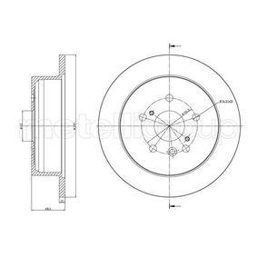 Bremsscheibe Bremsscheibendicke: 12,0mm, Lochanzahl: 5, Ø: 290,0mm mit OEM-Nummer 42431-28090