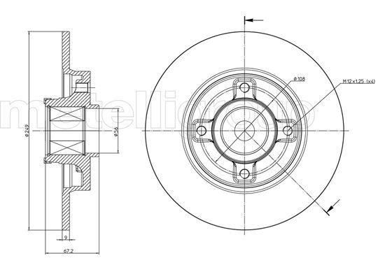 Disc Brakes CIFAM 800-827 expert knowledge