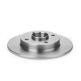 Bremsscheibe Bremsscheibendicke: 9,0mm, Lochanzahl: 4, Ø: 249,0mm mit OEM-Nummer 424934