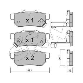 Honda Jazz gd 1.3 (GD1) Wasserpumpe + Zahnriemensatz CIFAM 822-176-1 (1.4 Benzin 2002 L13A1)