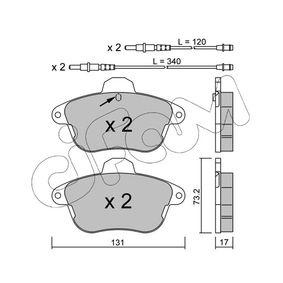 Bremsbelagsatz, Scheibenbremse Art. Nr. 822-184-1 120,00€