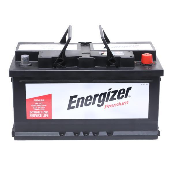 ENERGIZER PREMIUM EM80-LB4 Starterbatterie