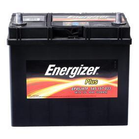 Starterbatterie Polanordnung: 1 mit OEM-Nummer 545157033 ENERGIZER