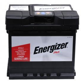 ENERGIZER Starterbatterie B13 , 52 Ah , 12 V , L1 , 470 A , Bleiakkumulator