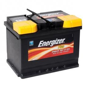 ENERGIZER Plus EP60-L2X Starterbatterie Polanordnung: 1