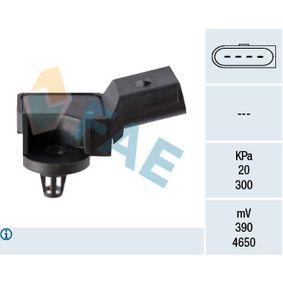 Senzor tlaku sacího potrubí 15007 Octa6a 2 Combi (1Z5) 1.6 TDI rok 2011