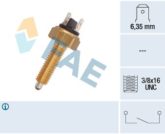 FAE  40960 Switch, reverse light Number of Poles: 2-pin connector
