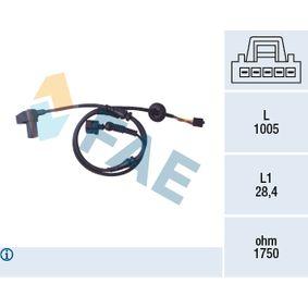 Sensor, Raddrehzahl Art. Nr. 78097 120,00€