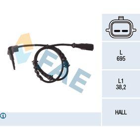 Sensor, Raddrehzahl Art. Nr. 78119 120,00€