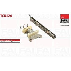 Passat B6 Variant 2.0FSI Steuerkette FAI AutoParts TCK124 (2.0FSI Benzin 2010 BLR)