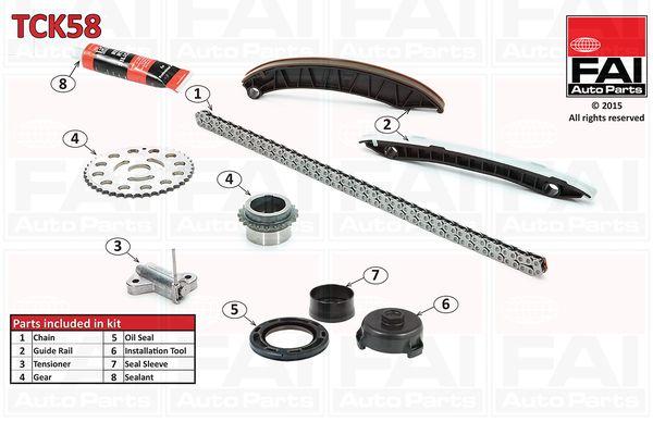 FAI AutoParts  TCK58 Timing Chain Kit