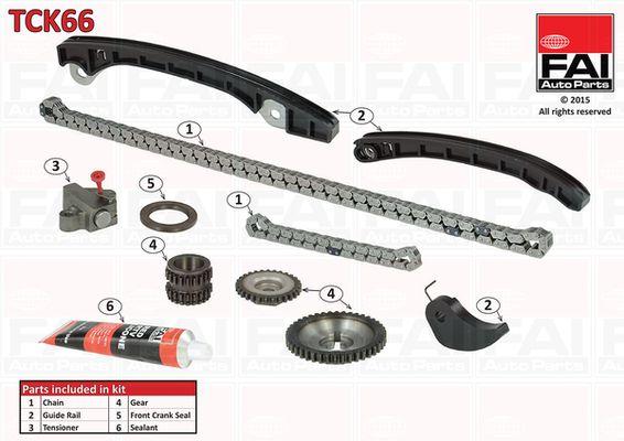 FAI AutoParts  TCK66 Timing Chain Kit