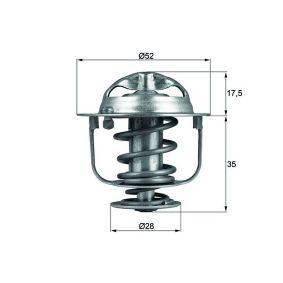 Термостат, охладителна течност TX 119 82D Jazz 2 (GD_, GE3, GE2) 1.2 i-DSI (GD5, GE2) Г.П. 2007