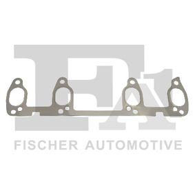 Ansaug-/Abgaskrümmerdichtung/-dichtring für VW GOLF IV (1J1) 1.6 100 PS ab Baujahr 08.1997 FA1 Dichtung, Abgaskrümmer (411-001) für