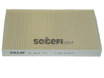 FRAM  CF5942 Filter, Innenraumluft Länge: 310mm, Breite: 194mm, Höhe: 30mm