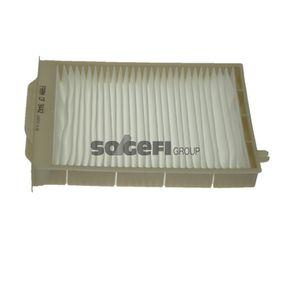 Filter, Innenraumluft Länge: 249mm, Breite: 181mm, Höhe: 42mm mit OEM-Nummer 7701064235