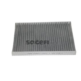 Filter, Innenraumluft Länge: 283mm, Breite: 205mm, Höhe: 25mm mit OEM-Nummer 8L0 091 800