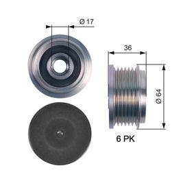 Generatorfreilauf mit OEM-Nummer 7736 4082