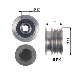 Generatorfreilauf mit OEM-Nummer 07K 903 119