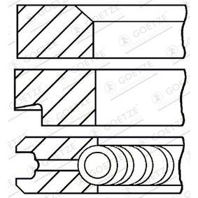 Kolbenringsatz mit OEM-Nummer A001 030 27 24