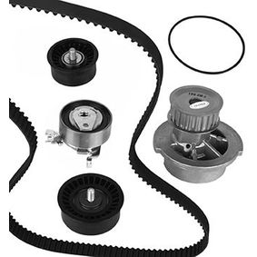 Water pump and timing belt kit with OEM Number 93180218