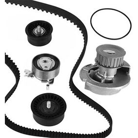 Water pump and timing belt kit with OEM Number 93 18 0218
