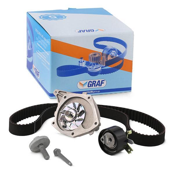 Zahnriemen Kit + Wasserpumpe KP821-1 GRAF PA821 in Original Qualität