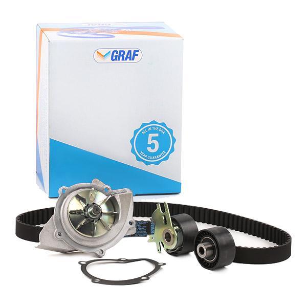 Zahnriemen Kit + Wasserpumpe KP861-2 GRAF PA861 in Original Qualität