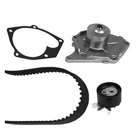 Water pump and timing belt kit with OEM Number 1680600QA2