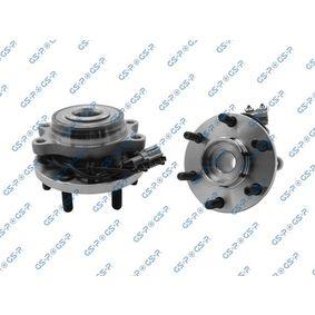 GSP  9329003 Σετ ρουλεμάν τροχών Ø: 139,8mm