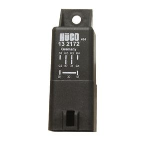 HITACHI  132172 Relay, glow plug system Voltage: 12V