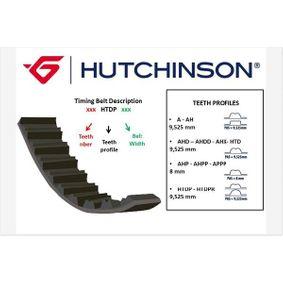 Touran 1T1, 1T2 1.9TDI Zahnriemen HUTCHINSON 120 HTDP 30 (1.9TDI Diesel 2008 BXE)
