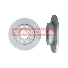 Bremsscheibe Bremsscheibendicke: 12mm, Lochanzahl: 5, Ø: 256mm mit OEM-Nummer 1K0 615 601AC