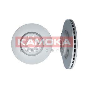 KAMOKA Bremsscheibe 1032610 mit OEM-Nummer 1K0615301AA