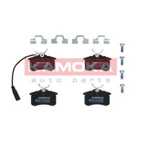 Bremsbelagsatz, Scheibenbremse Breite: 88mm, Höhe: 53mm, Dicke/Stärke: 17,2mm mit OEM-Nummer 8D0 698 451B