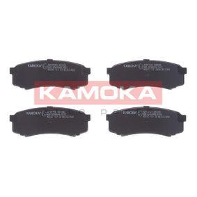 Bremsbelagsatz, Scheibenbremse Breite: 116,2mm, Höhe: 43,8mm, Dicke/Stärke: 15,2mm mit OEM-Nummer 04466 60010